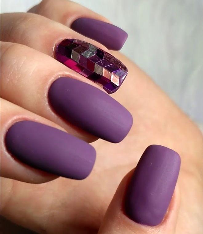 Дизайн с камифубиками на длинные ногти раз