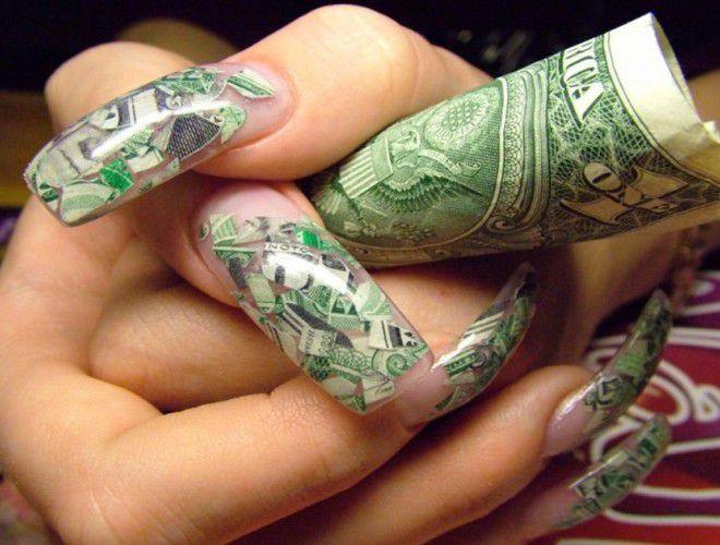 Маникюр по фен шуй для привлечения денег пять