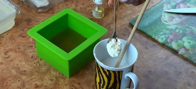 Мыло для сухой кожи своими руками пять