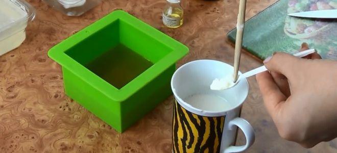 Мыло для сухой кожи своими руками шесть
