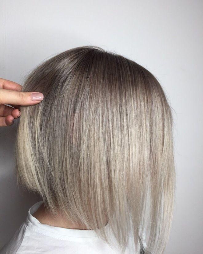 Airtouch техника окрашивания блонд раз