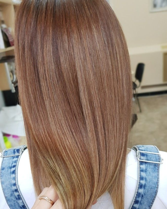 Airtouch окрашивание на свелые волосы три
