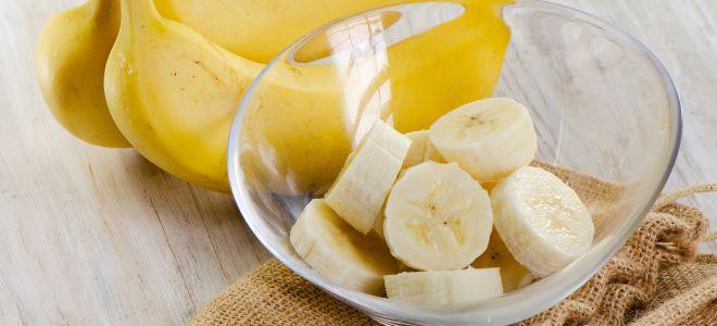 маска-из банана для лица от морщин