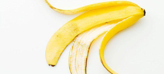 маска из банановой кожуры для-лица