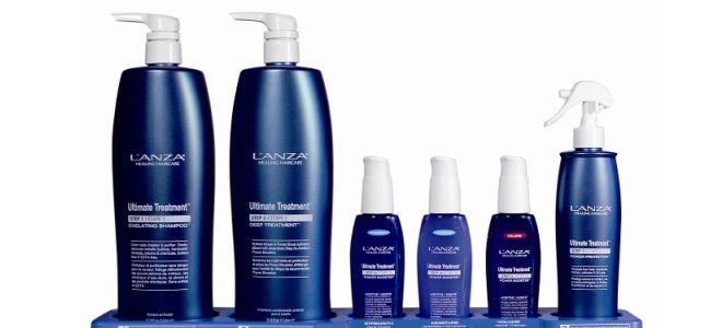 Набор для кератинового восстановления волос