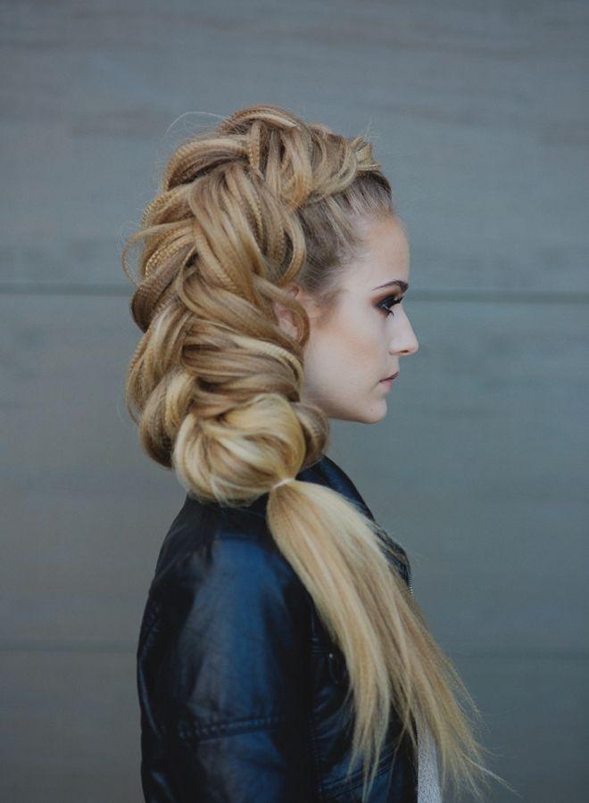 Прически на бок на длинные волосы шесть