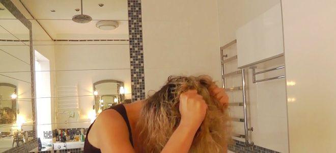 химическая завивка волос мокрый эффект четвертый