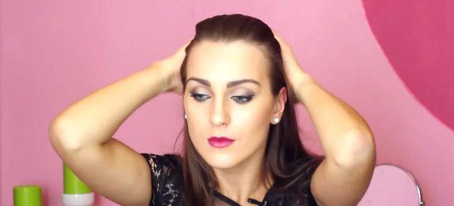 укладка гелем с эффектом мокрых волос третий