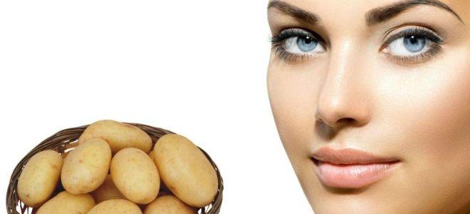 картофельный сок для лица