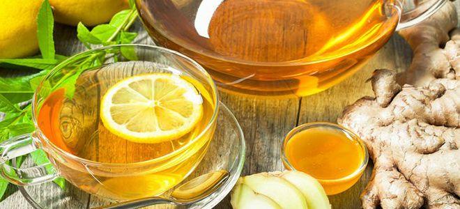 имбирь с лимоном и медом польза