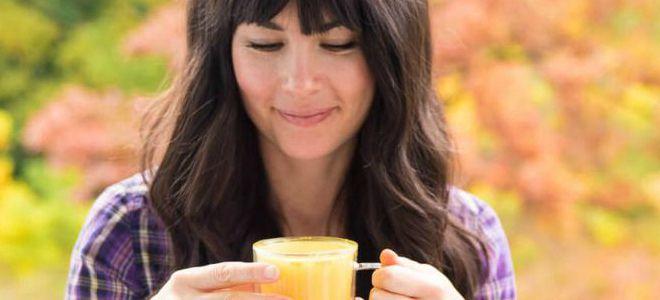 как правильно пить чай с куркумой