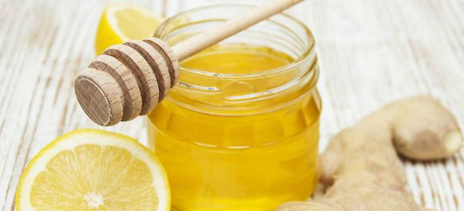 лекарство из меда лимона и имбиря