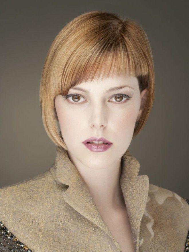 виды женских челок косая удлиненная