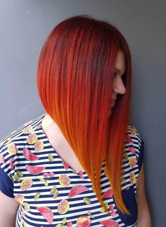 4. Блонд омбре от середины прически для обладательниц тонких волос