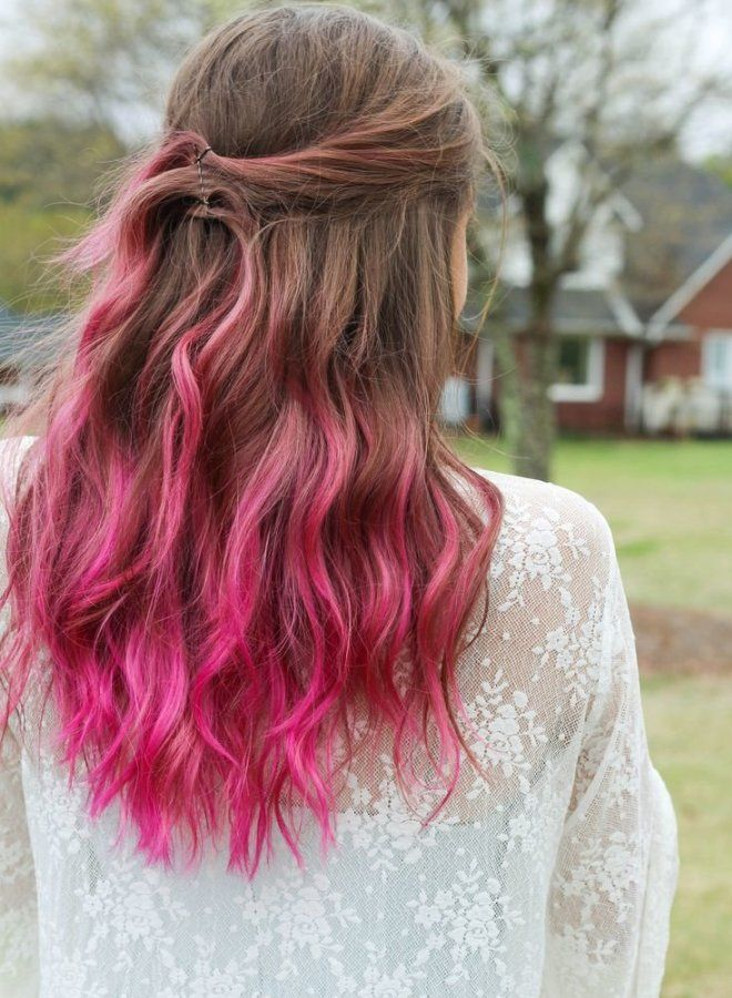 Омбре для русых волос шесть