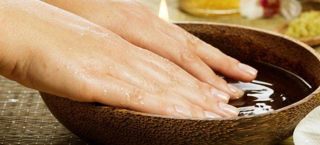 мятное масло для ногтей
