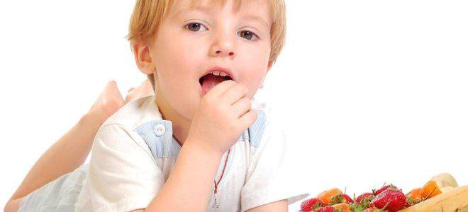 диета при крапивнице у детей