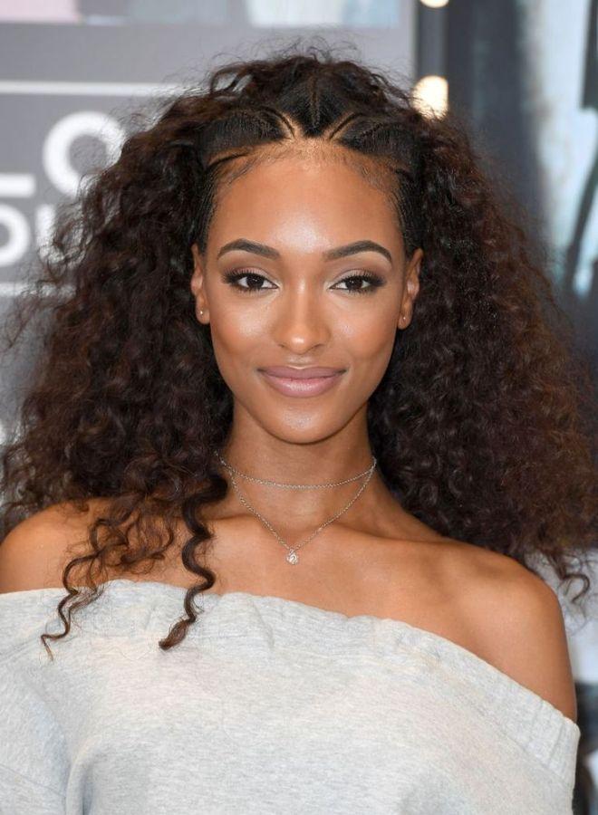 Афро кудри на длинные волосы четыре