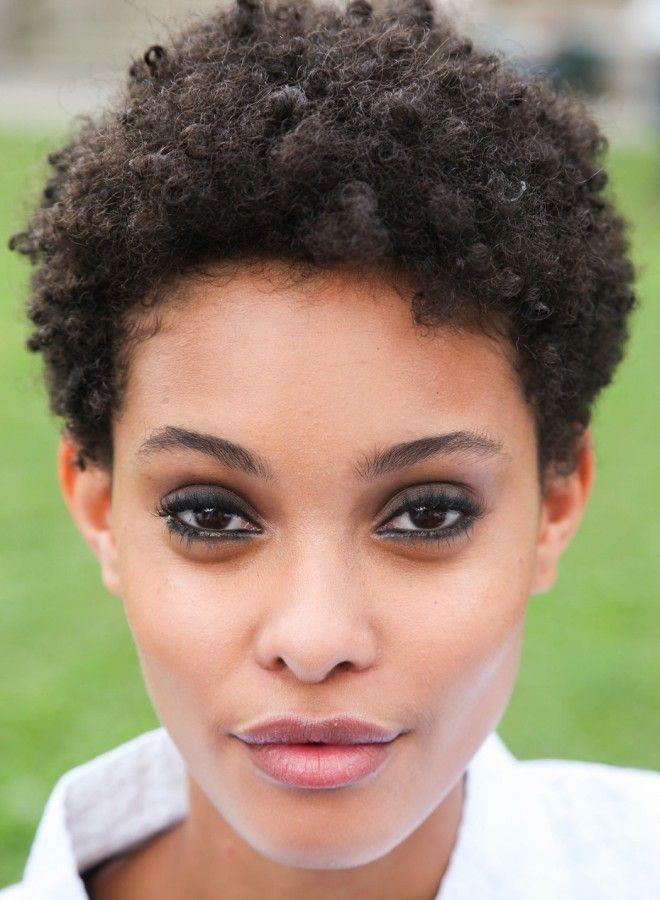 Афро кудри на короткие волосы три