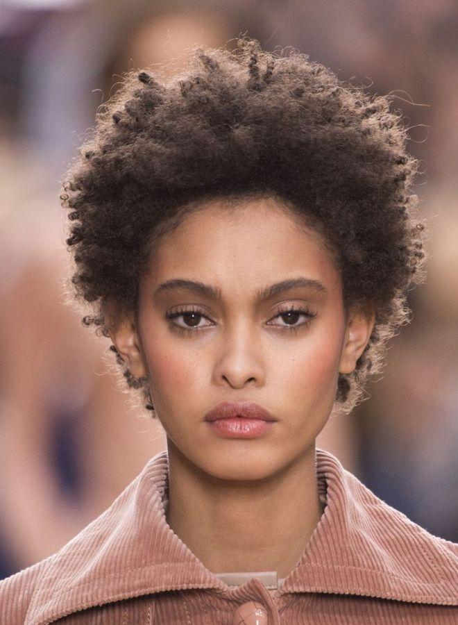 Афро кудри на короткие волосы четыре