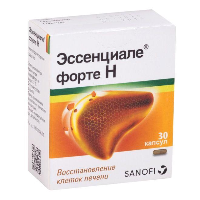 Лучшее лекарство для восстановления печени эссенциале