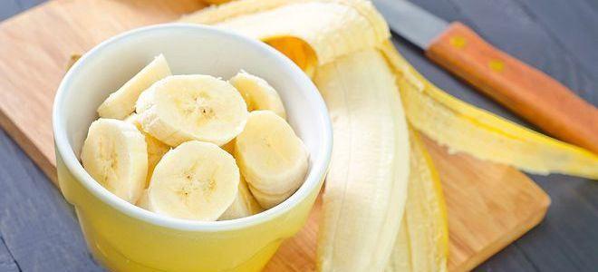 маска банан с крахмалом