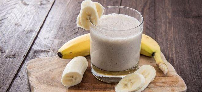 маска банан и молоко
