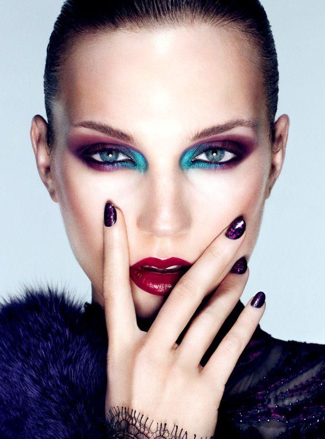 Идеи макияжа для фотосессии шесть