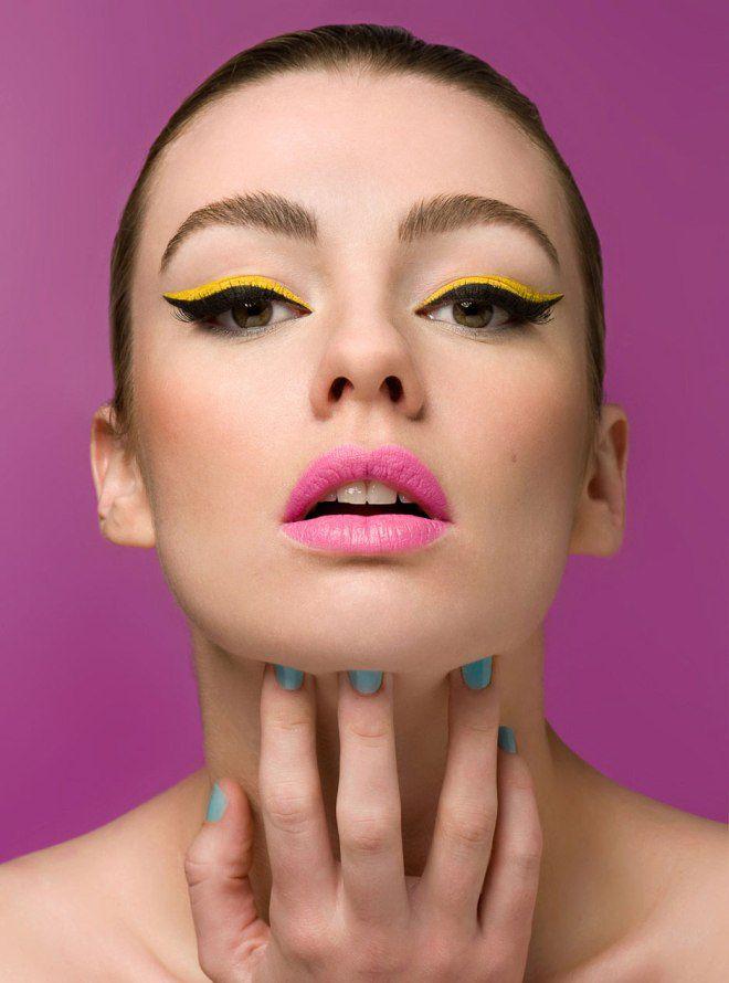 Идеи макияжа для фотосессии десять