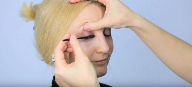 Омолаживающий макияж глаз восемь
