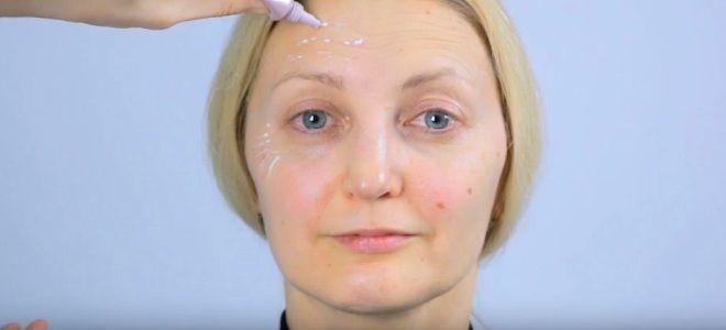 Омолаживающий макияж для лица раз
