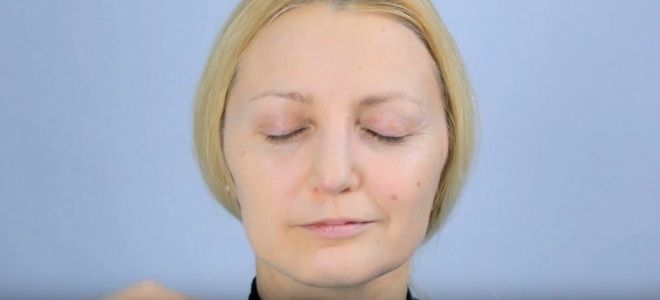 Омолаживающий макияж для лица два