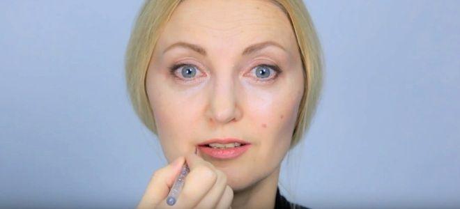 Омолаживающий макияж для лица четыре