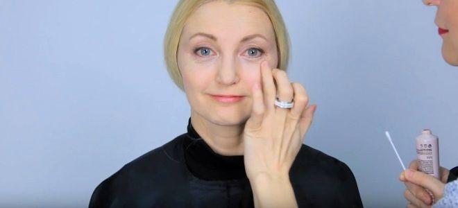 Омолаживающий макияж для лица пять