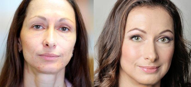 Омолаживающий макияж кому за 40 раз