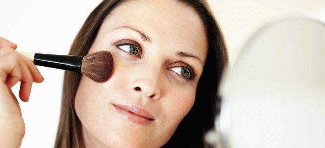 Применение хайлайтера в антивозрастном макияже