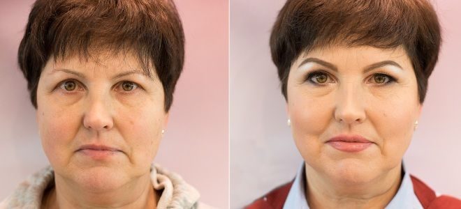 Омолаживающий макияж за 50 раз