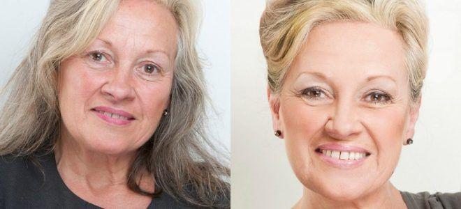 Омолаживающий макияж за 60 два