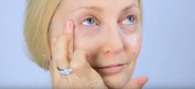 Омолаживающий макияж глаз два