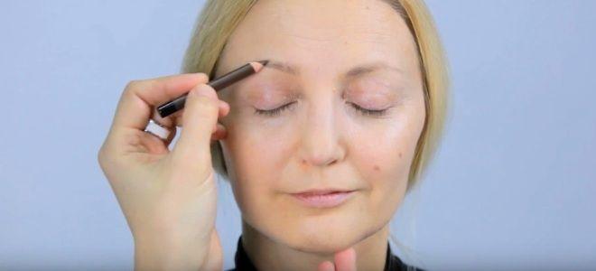 Омолаживающий макияж глаз три