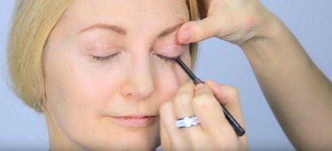 Омолаживающий макияж глаз четыре