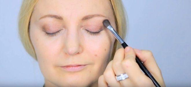 Омолаживающий макияж глаз шесть
