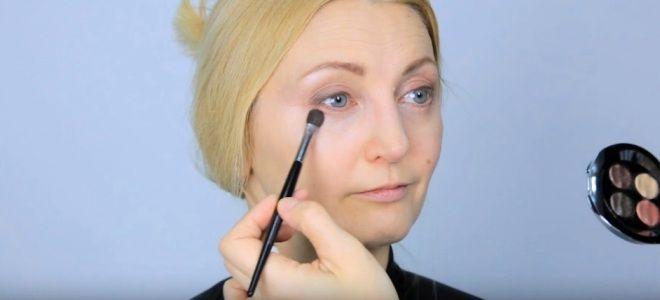 Омолаживающий макияж глаз семь