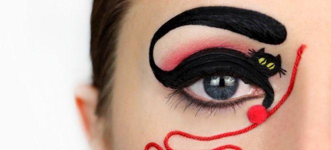 Декоративная косметика для рисунков на лице