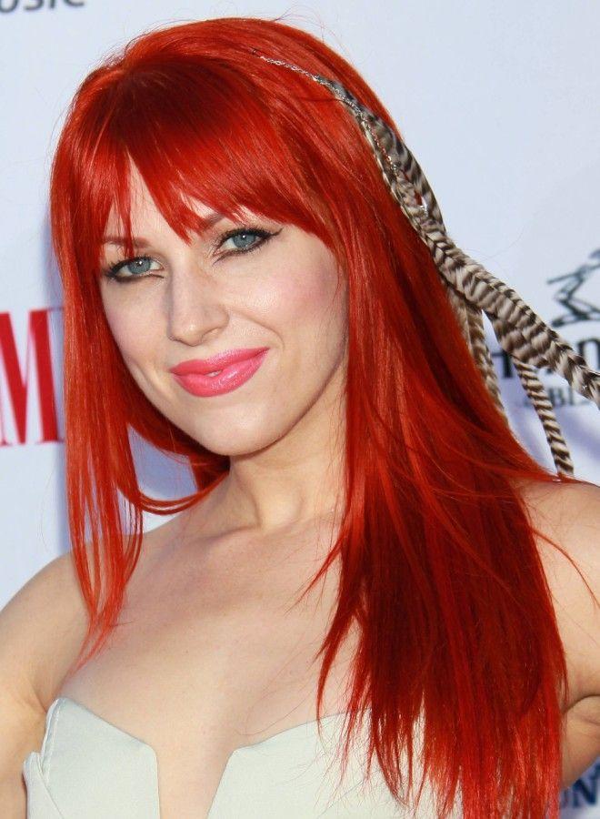 Огненно рыжие волосы три