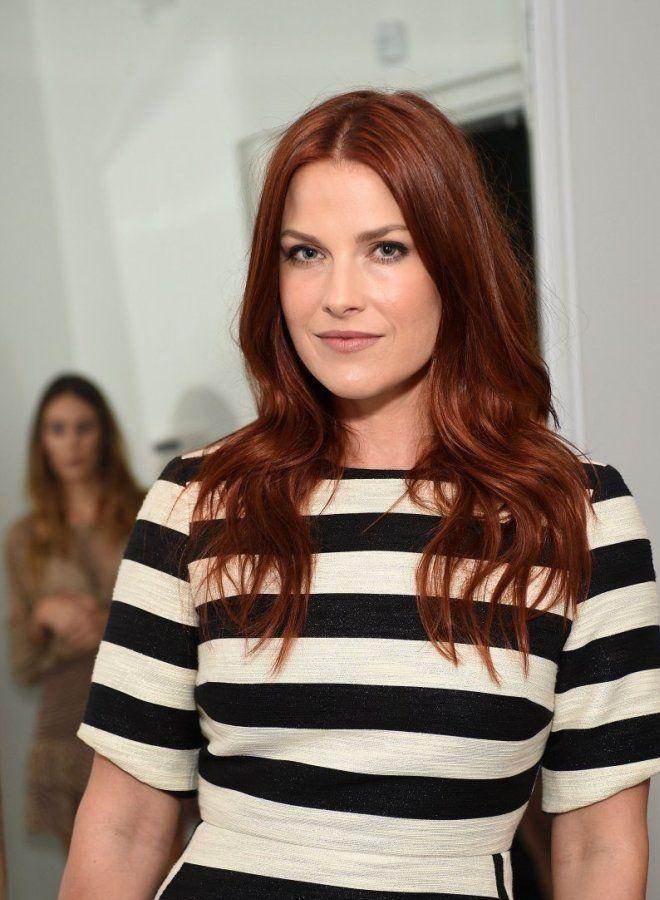 Темно рыжий цвет волос три