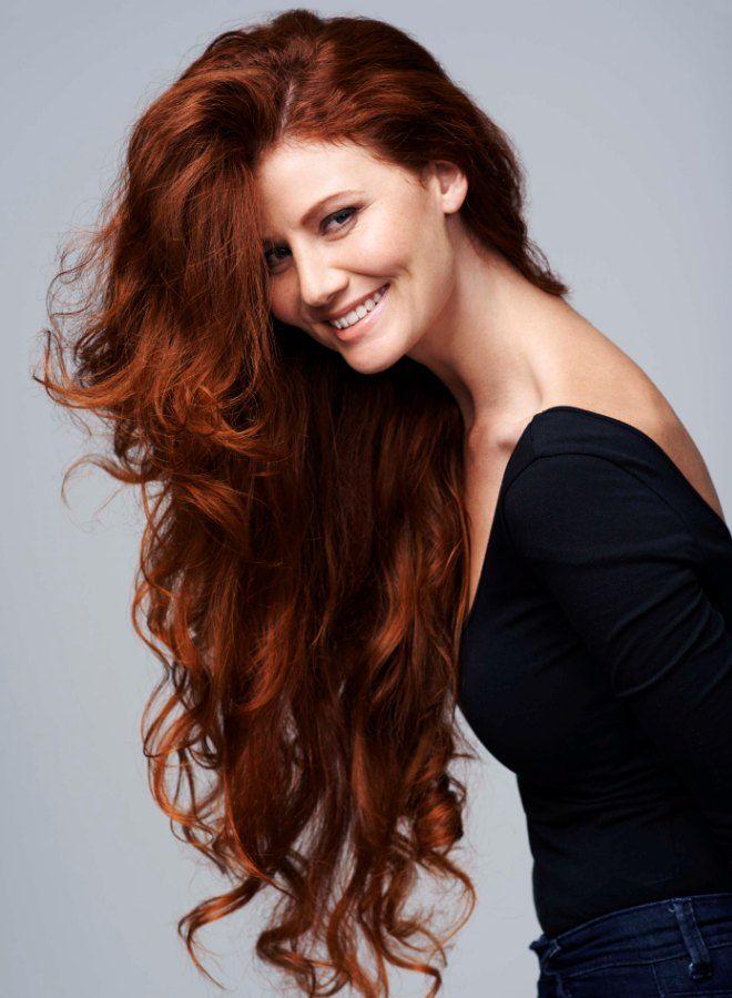 Темно рыжий цвет волос четыре