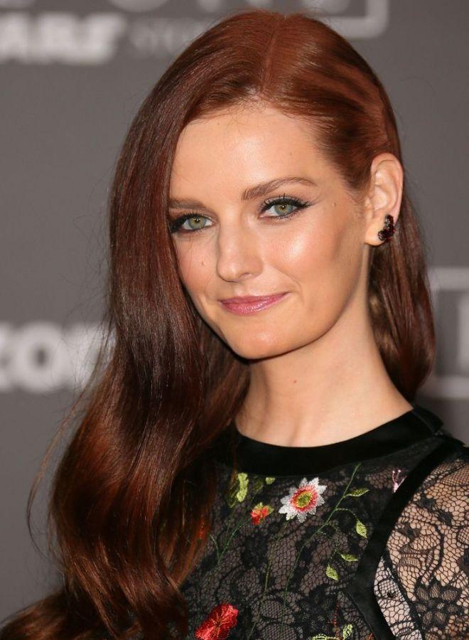 Темно рыжий цвет волос пять
