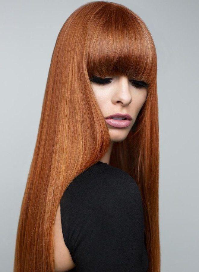 Светло рыжий цвет волос два