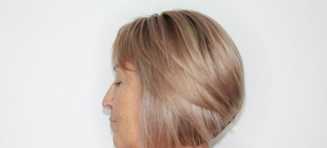 Варианты окрашивания седых волос восемь